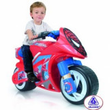 Motocicleta Wind Spiderman Sense 6V (INJ6466)