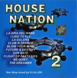 CD DJ Allen – House Nation 2, original, holograma