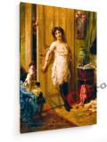Tablou pe panza (canvas) - Hans Zatzka - A glowing admirer - Painting