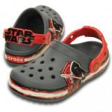 Saboți Copii casual Crocs Crocband Star Wars Villain Clog Kids, 30, 33.5, Gri
