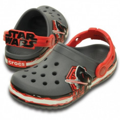Saboți Copii casual Crocs Crocband Star Wars Villain Clog Kids, 20, 23, 25, 28, 30, 33.5, 38, Gri