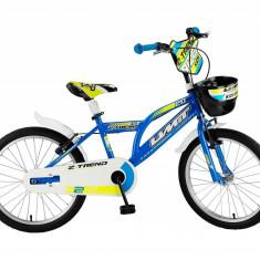 """Bicicleta Copii Umit Z.Trend , Culoare albstru/galben Roata 16"""" OtelPB Cod:16020000001"""