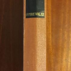 M. Eminescu - Opere XII (1985 - editia Perpessicius) - Stare foarte buna!