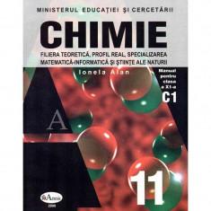 Chimie manual pentru clasa a XI-a, autor Ionela Alan