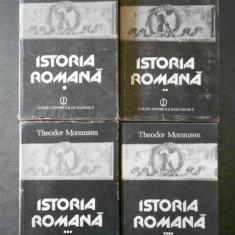 THEODOR MOMMSEN - ISTORIA ROMANA  4 volume