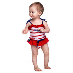 Costum de baie SeaLife red marime L Swimpy for Your BabyKids