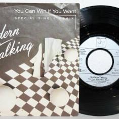 "Modern Talking - You can win if you want (1985, Hansa) Disc vinil single 7"""