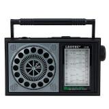 Radio portabil, aspect retro, 3W 8 ohm, 7 benzi FM/MW/SW1-5, Resigilat