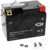 MBS Baterie moto fara intretinere cu gel 12V5Ah YTX4L-BS JMT, Cod Produs: 7070104MA