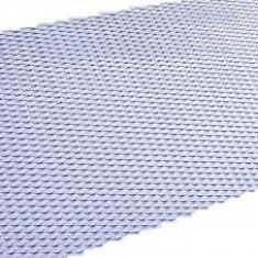Plasa bara tuning aluminiu Argintiu / Crom 100x33 cm