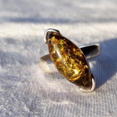INEL argint CHIHLIMBAR de efect VECHI vintage SPLENDID delicat FINUT