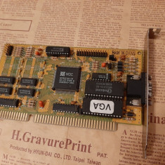 Placa video colectie ISA Western Digital WD90C30-LR 512Kb