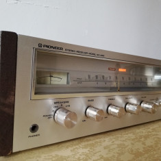Amplificator/Tuner - PIONEER SX-450 - RAR/Solid-State/Vintage/Impecabil/Japan