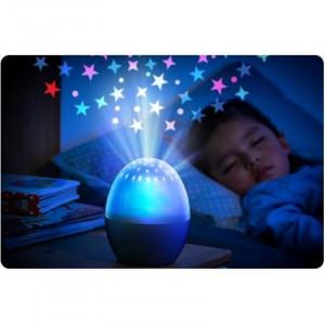 Lampa de veghe tip proiector stele Starlino Reer, LED, 3 niveluri luminozitate