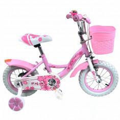 Bicicleta Copii Pink Flower Roz 16
