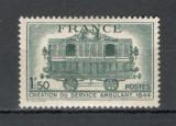 Franta.1944 100 ani serviciul postal ambulant  MF.168