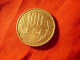 Moneda 100 lei 1991 Romania , cal. F.Buna