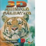 Cumpara ieftin Animale salbatice. Cu un poster si ochelari 3D/***, Cartex 2000