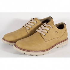 Pantofi barbati/barbatesti office bej (cod 054150)