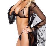 Lenjerie Lady Lust Sexy Alb Dantela Transparent Bikini Chiloti Sutien 2 Piese