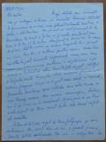 Scrisoare a scriitoarei Lucia Demetrius catre Mia Groza , 1970