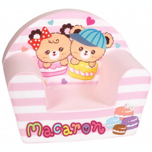 Fotoliu din burete Macaron