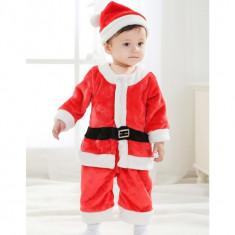 CLD35 Costum tematic baby Santa pentru copii