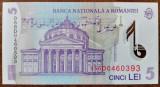5 lei 2005 (2005) UNC necirculata impecabila
