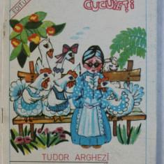 SCOALA NOUA de TUDOR ARGHEZI , desene de ELENA IANCEU POPESCU , 1991