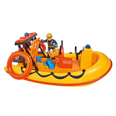 Set de joaca Pompierul Sam - Barca Neptun cu figurina si accesorii
