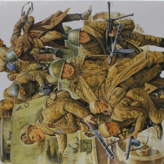+ Kit figurine 1/35 Tamiya 35207 - Russian Army Assault Infantry +