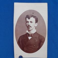 FOTOGRAFIE VECHE PE SUPORT DE CARTON , MOLNAR I. , TUSNAD , DATATA 1873