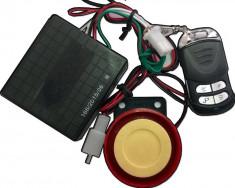 Alarma scuter cu pornire pe telecomanda Cod Produs: MX_NEW MXC23004 foto