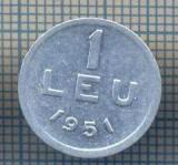 AX 785 MONEDA- ROMANIA - 1 LEU -ANUL 1951 -STAREA CARE SE VEDE