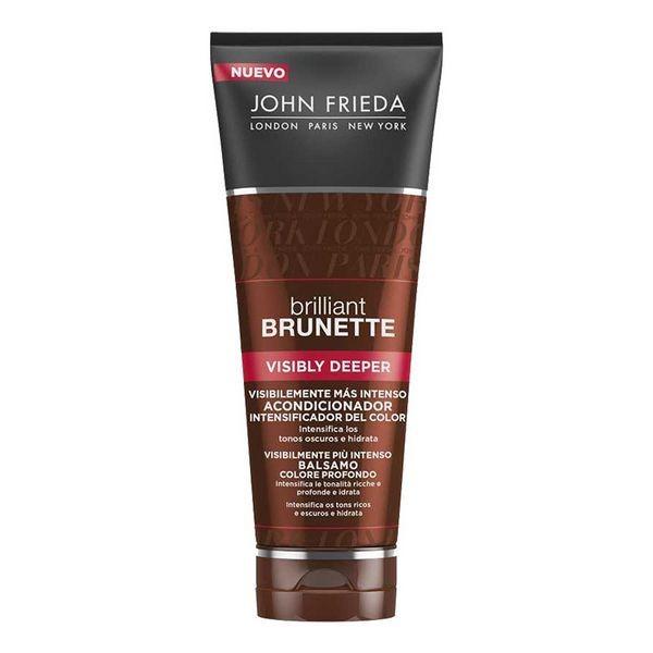 Balsam pentru Amplificarea Culorii Brilliant Brunette John Frieda (250 ml)