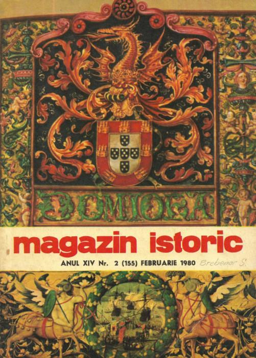 Magazin Istoric - anul 14 - nr. 2 (155) - februarie 1980 (C196)