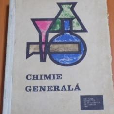 CHIMIE GENERALA PENTRU INSTITUTELE DE INVATAMANT SUPERIOR TEHNIC , 1967