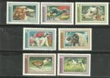 UNGARIA 1972 - CAINI DE RASA SI DE VANATOARE, serie MNH, S4