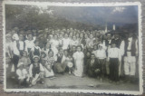 Nunta din perioada interbelica, copii si tarani// fotografie
