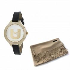 Ceas Ungaro Watch Confetti Black Esarfa Casmir Borealy
