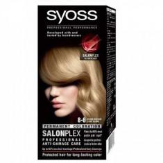 Vopsea de par permanenta Syoss Salonplex 8-6 Light Blonde
