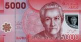 CHILE █ bancnota █ 5000 Pesos █ 2013 █  P-163d █ POLYMER █ UNC █ necirculata