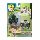 Set figurine Ben 10 - Cap de Diamant si Cannonbolt