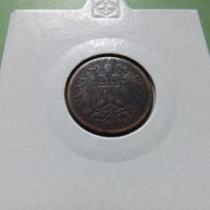 Austria  2  Heller  1906