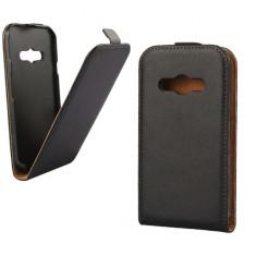Husa Telefon Flip Vertical Samsung S5690 Galaxy Xcover Black