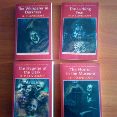 H. P. Lovecraft  -  Collected Short Stories  (4 volume horror - in engleza)