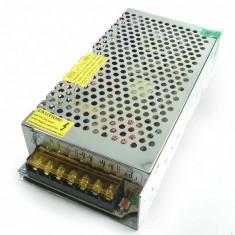 Sursa tensiune alimentare industriala in comutatie stabilizata, 12V / 20A, carcasa metalica foto