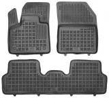 Covorase presuri cauciuc Premium stil tavita Citroen DS7 Crossback 2018-2021 cu tunel, Rezaw Plast