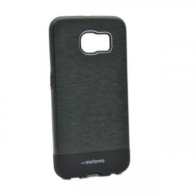 Husa Samsung Galaxy S6 Edge Motomo V4 Negru foto