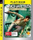 Joc PS3 Uncharted Drake's Fortune Platinum